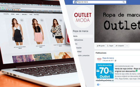tienda Virtual vs Fan page - Lara Mkt - Lara Marketing
